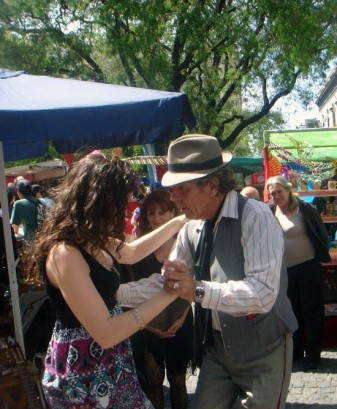 Buenos Aires San Telmo Tango Street M Walking Tour