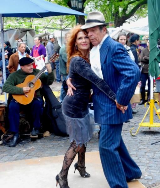 Buenos Aires San Telmo Tango Street Walking Tour